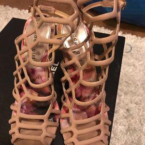 Madden girl caged heels